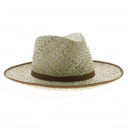 Chapeau de jardin Paille Naturelle - Traclet
