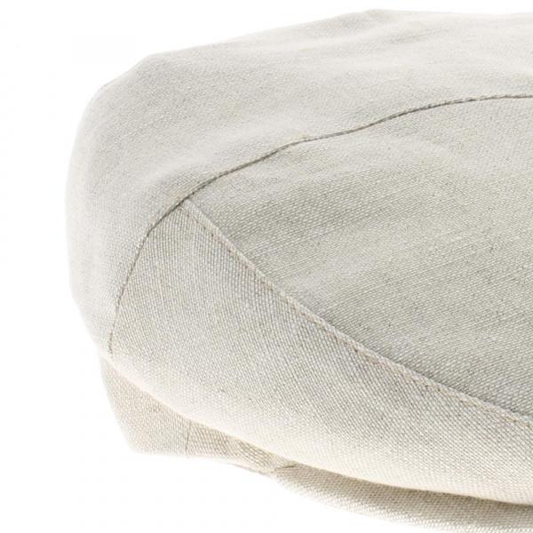 casquette plate lin