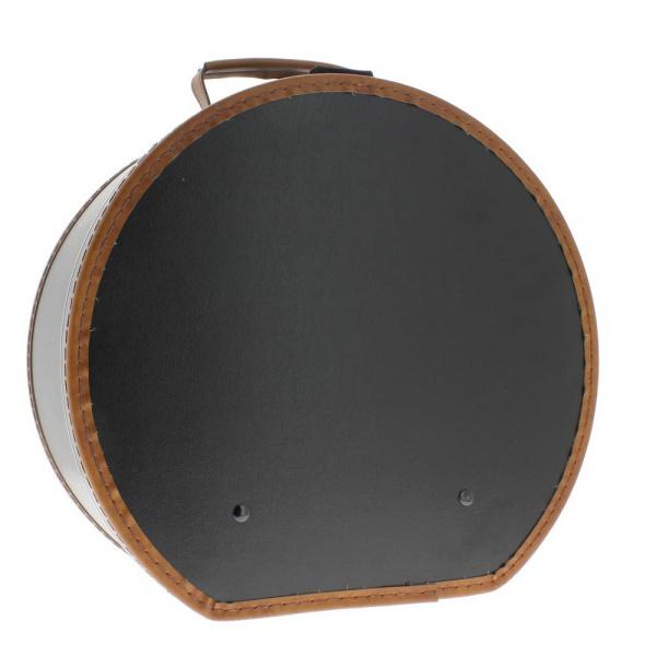 boite chapeau hatbox simili cuir. Black Bedroom Furniture Sets. Home Design Ideas