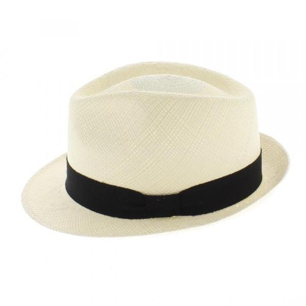 chapeau femme Trilby panama