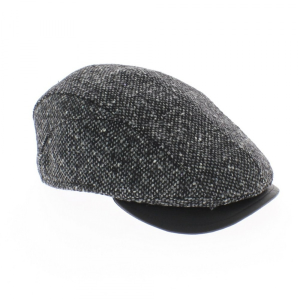Casquette Franco Tweed chinée Mayser