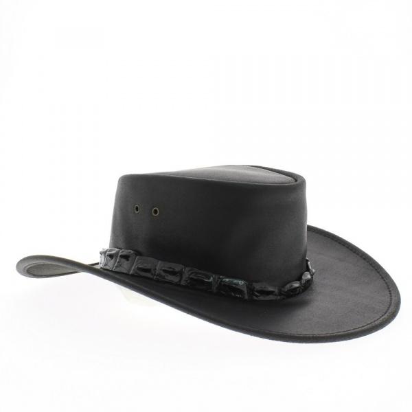 chapeau cuir eureka en cuir de buffle achat chapeau. Black Bedroom Furniture Sets. Home Design Ideas