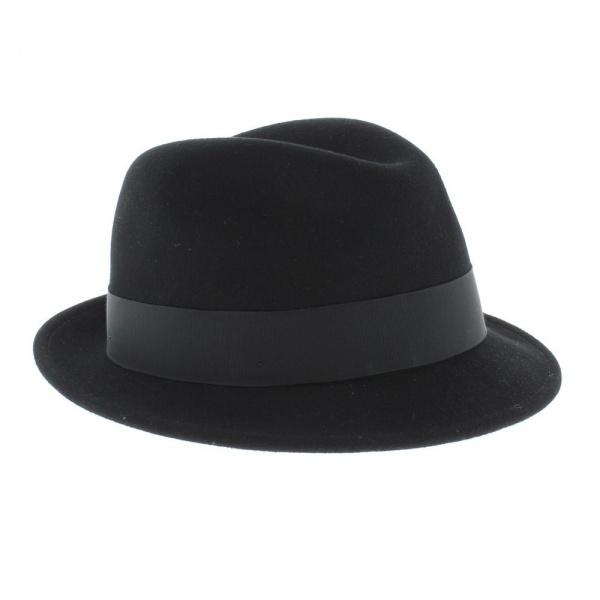 Chapeau tino Noir Trilby Bailey