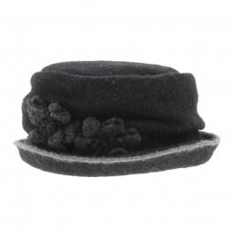 Chapeau laine bouillie Florine