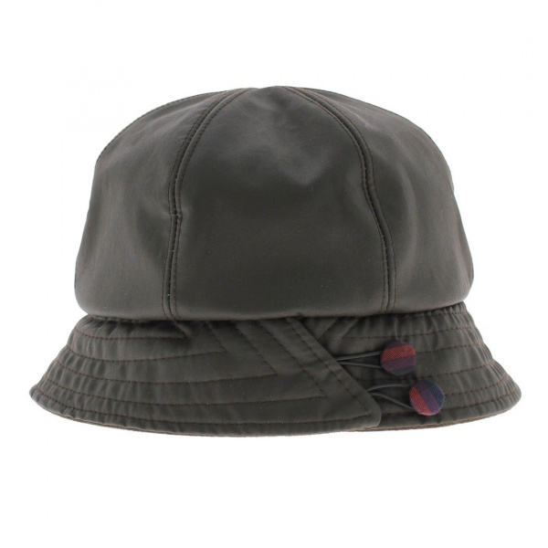 Chapeau cloche impermeable
