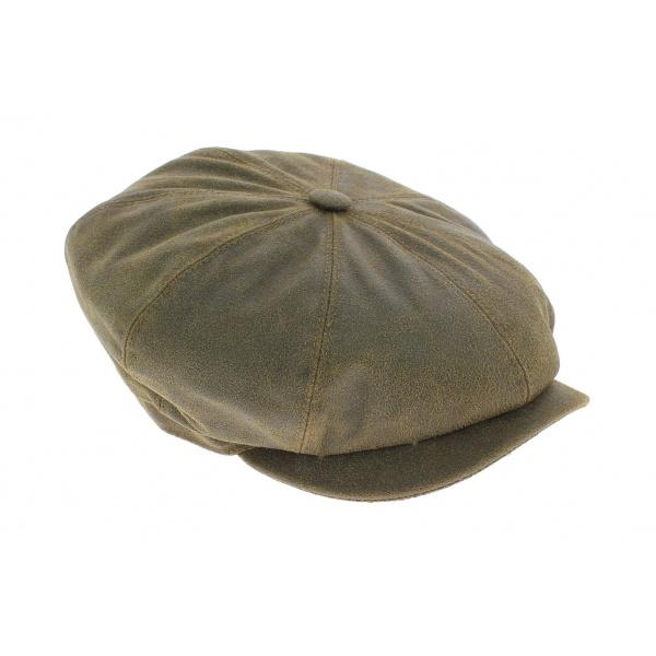 Casquette hatteras cuir