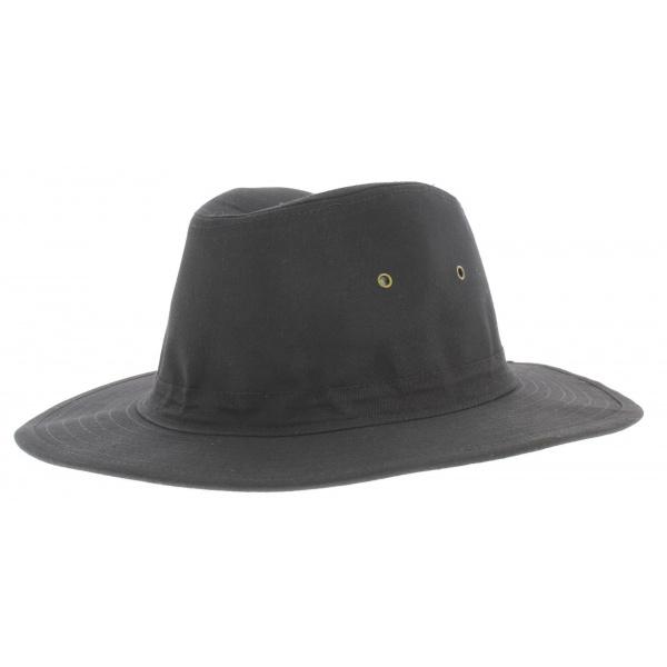chapeau tissu homme noir jones chapellerie traclet. Black Bedroom Furniture Sets. Home Design Ideas