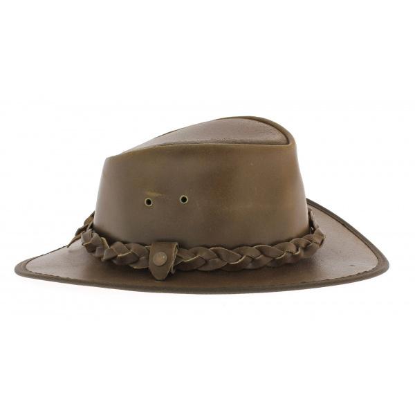 Chapeau cuir winston