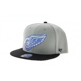 Manta Detroit  Red Wings Gris et Bleu