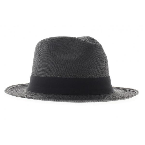 chapeau panama noir achat panama. Black Bedroom Furniture Sets. Home Design Ideas