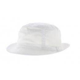 Chapeau Tissu Stetson Gander blanc