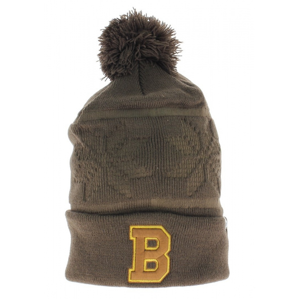Bonnet long pompon Boston Bruns Vintage