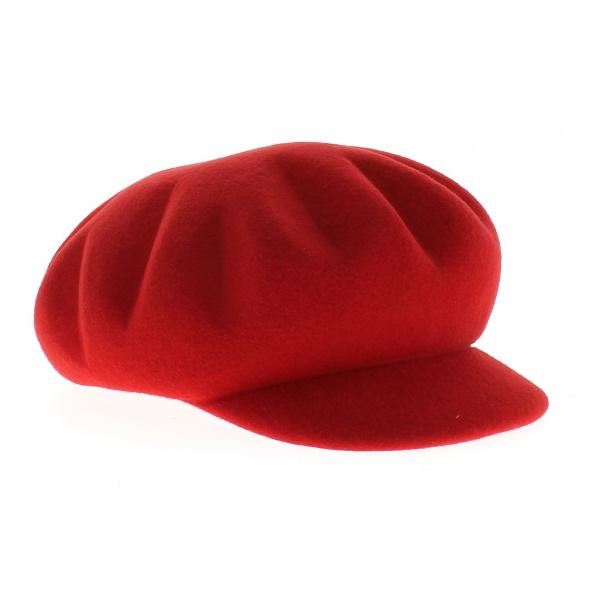 casquette rouge bordeaux achat casquettes chapeau traclet. Black Bedroom Furniture Sets. Home Design Ideas
