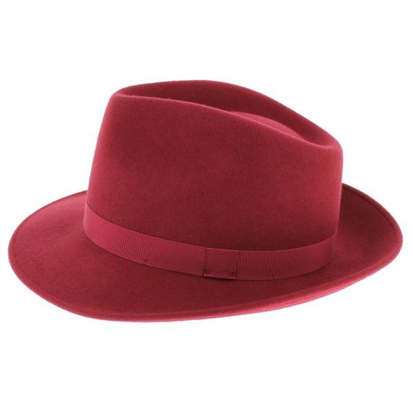 Chapeau fedora caroube