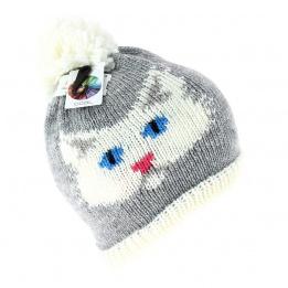 Bonnet The Kitty gris Coal