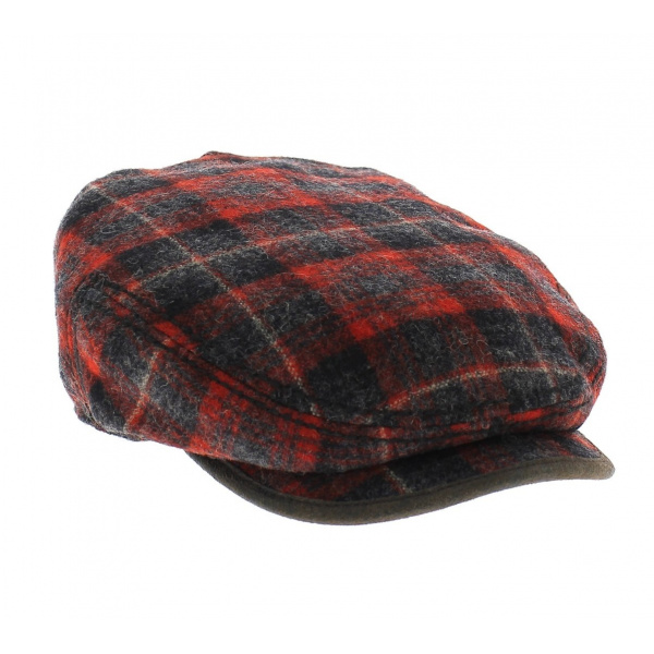 Casquette Cache-Oreilles Bandera Canada rouge - Stetson
