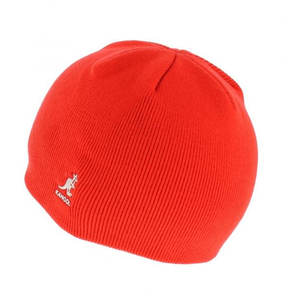Bonnet Acrylic Cuffless Pull-On rouge - Kangol
