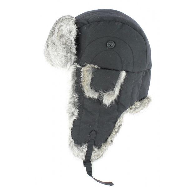Chapka fourrure - Lapeer noire