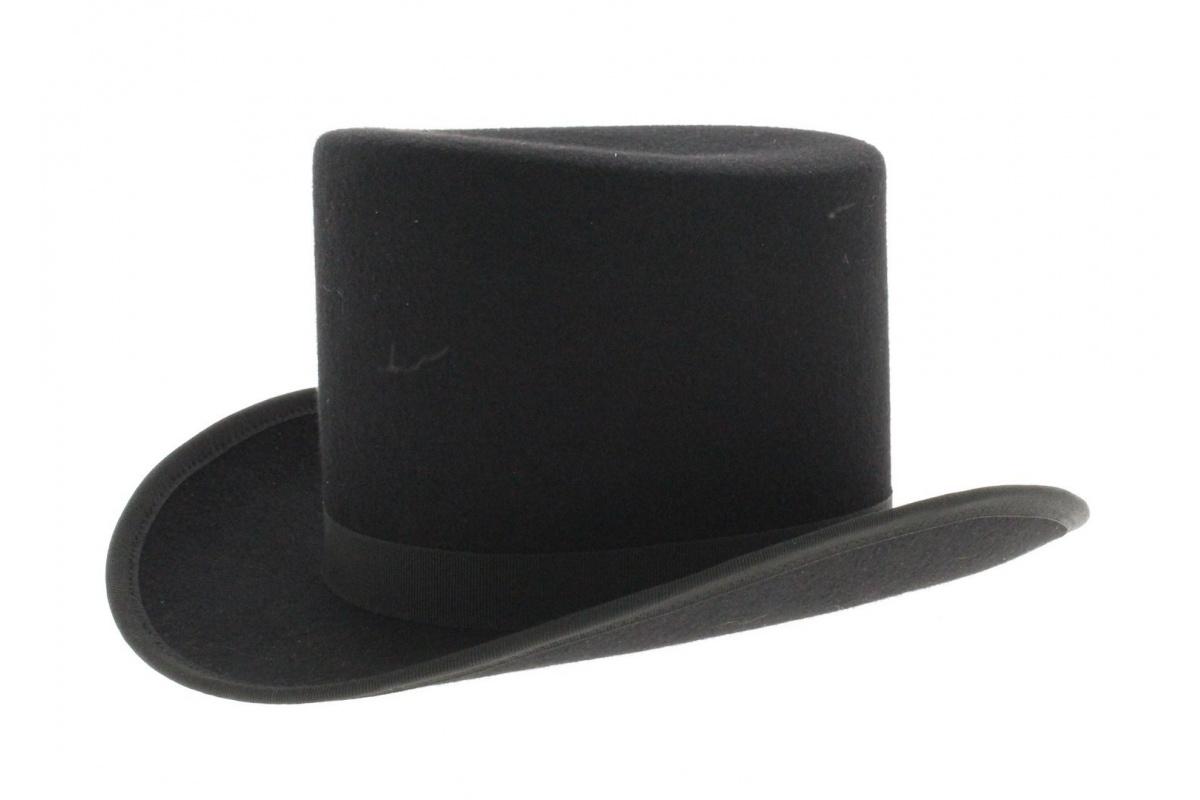 chapeau haut de forme gibus noir. Black Bedroom Furniture Sets. Home Design Ideas