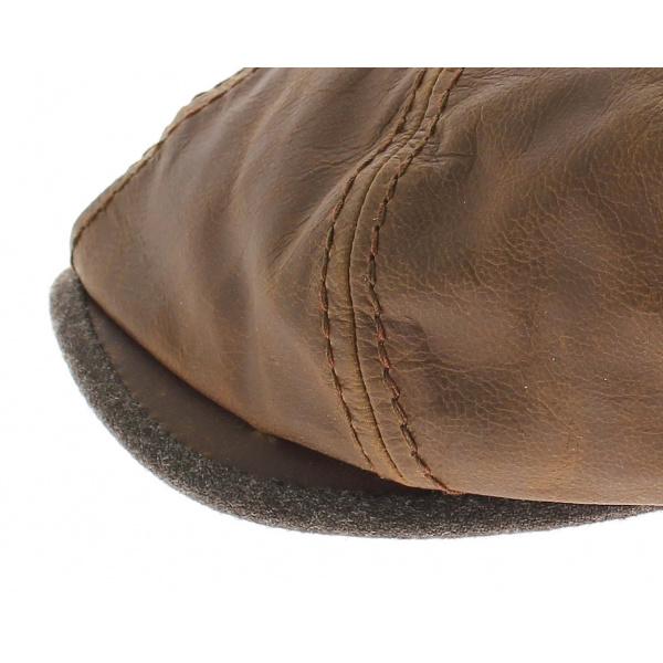 Casquette hatteras goatskin stetson