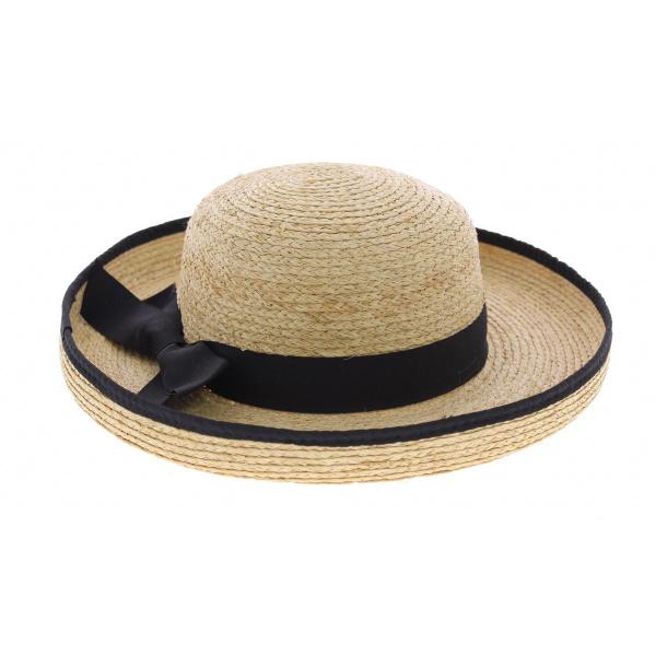 chapeau de paille style breton