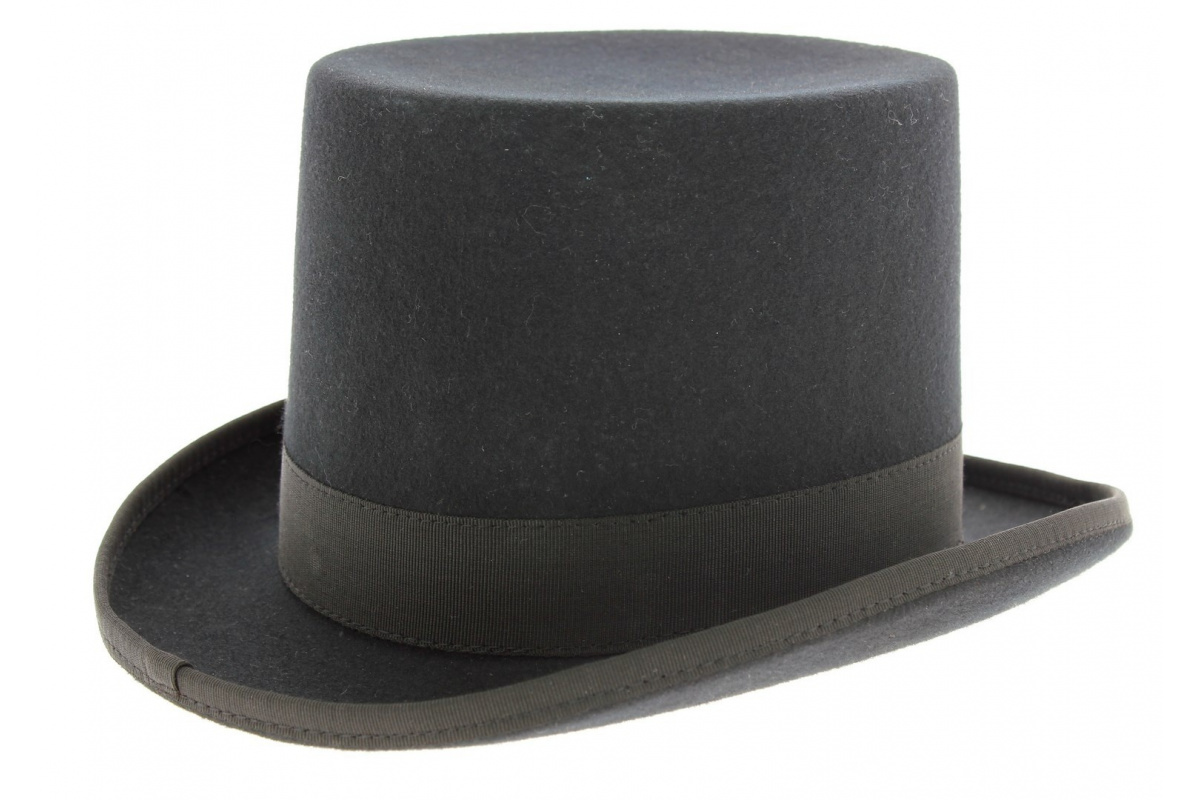 chapeau haut de forme made in france chapeau traclet. Black Bedroom Furniture Sets. Home Design Ideas