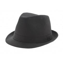 Chapeau trilby jazz - Coton noir