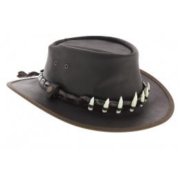 Chapeau Queensland Dent de Croco