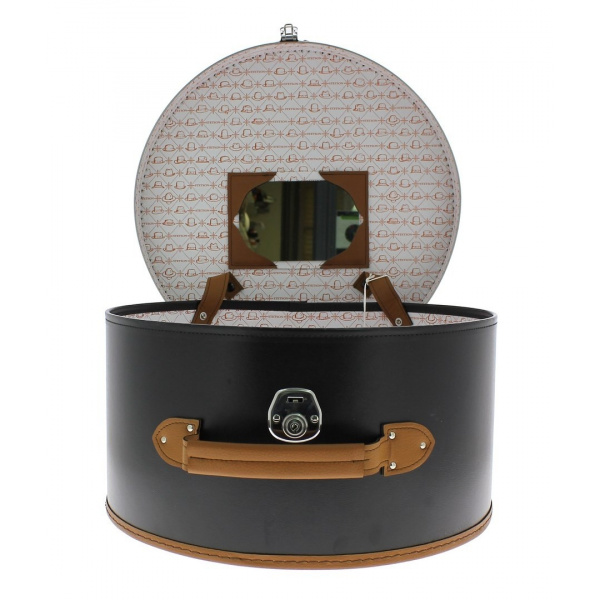 boite a chapeau stetson hatbox. Black Bedroom Furniture Sets. Home Design Ideas