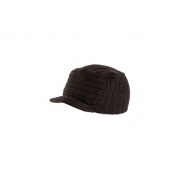 Bonnet casquette Tribe marron