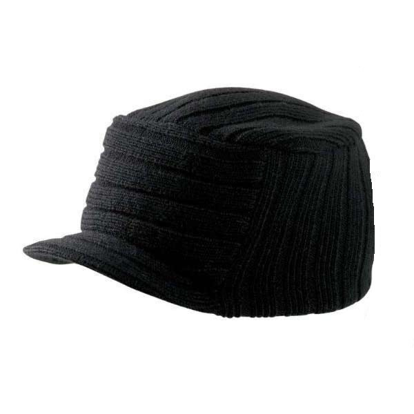 Bonnet casquette Tribe noir
