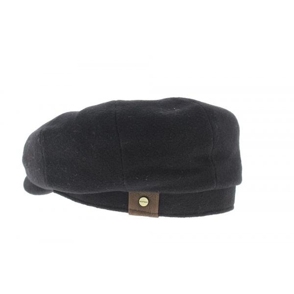 Casquette hatteras stetson  Noir