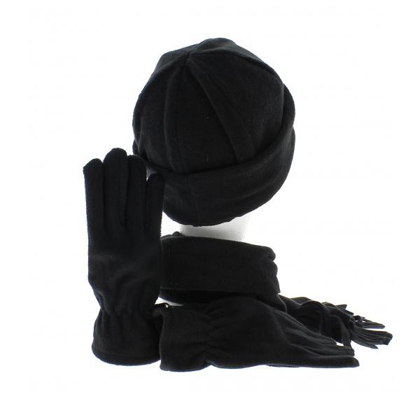 ensemble bonnet echarpe et gant assortis. Black Bedroom Furniture Sets. Home Design Ideas