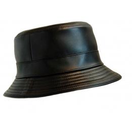 Chapeau bob cuir Cassel