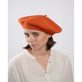 Béret Français - béret Orange
