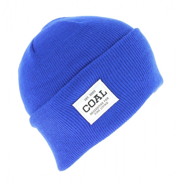 Bonnet The Uniforme royal blue Coal