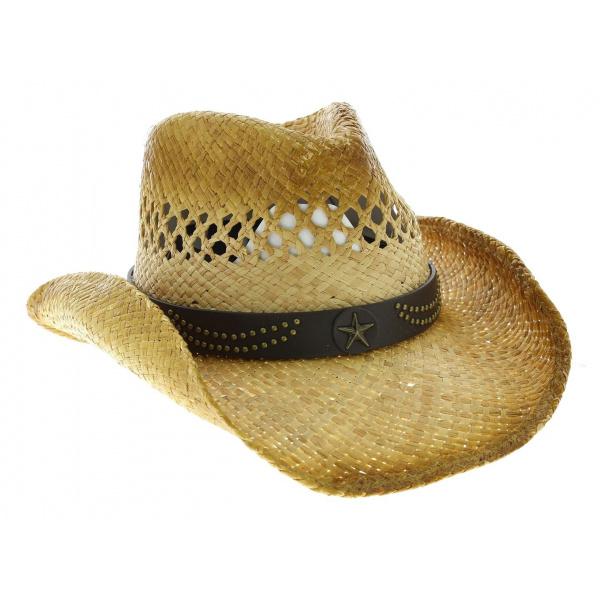 chapeau cowboy alanreed achat chapeau de paille. Black Bedroom Furniture Sets. Home Design Ideas