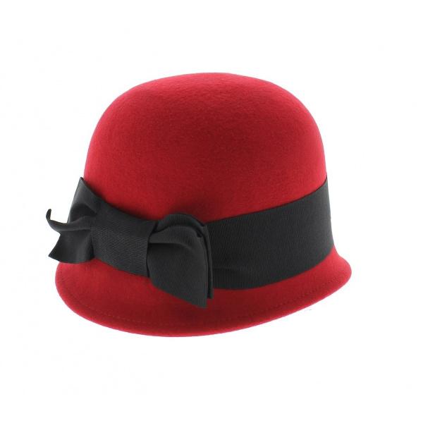 chapeau polaire rouge chapeau femme. Black Bedroom Furniture Sets. Home Design Ideas