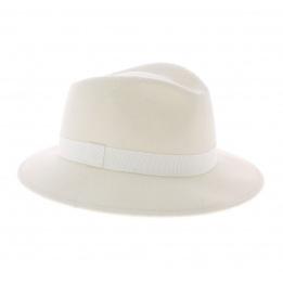 Chapeau traveller blanc