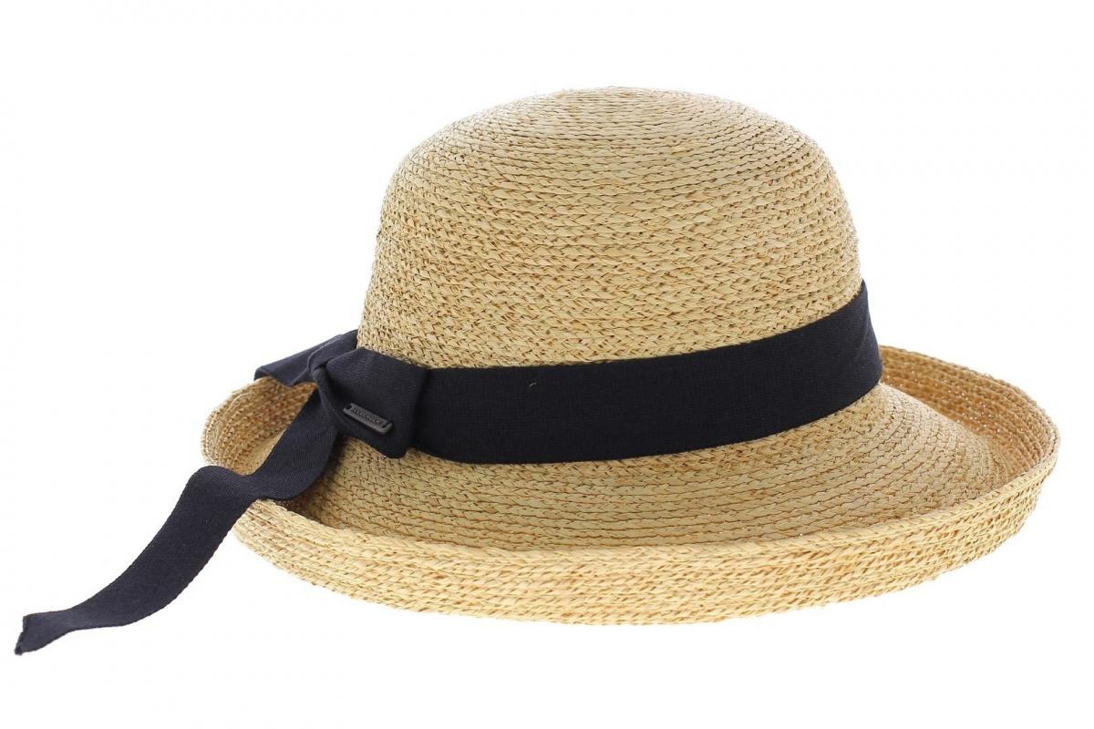 chapeau de paille femme livorno