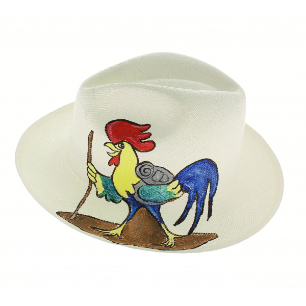 Chapeau Panama Coq