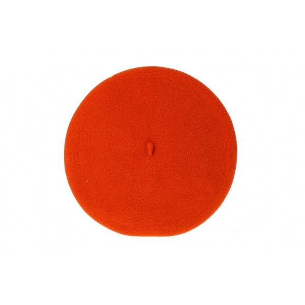 Beret orange fluo - chasseur
