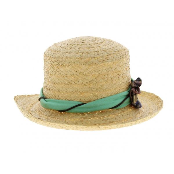 Chapeau de paille cl a chapeau traclet - Deco chapeau de paille ...