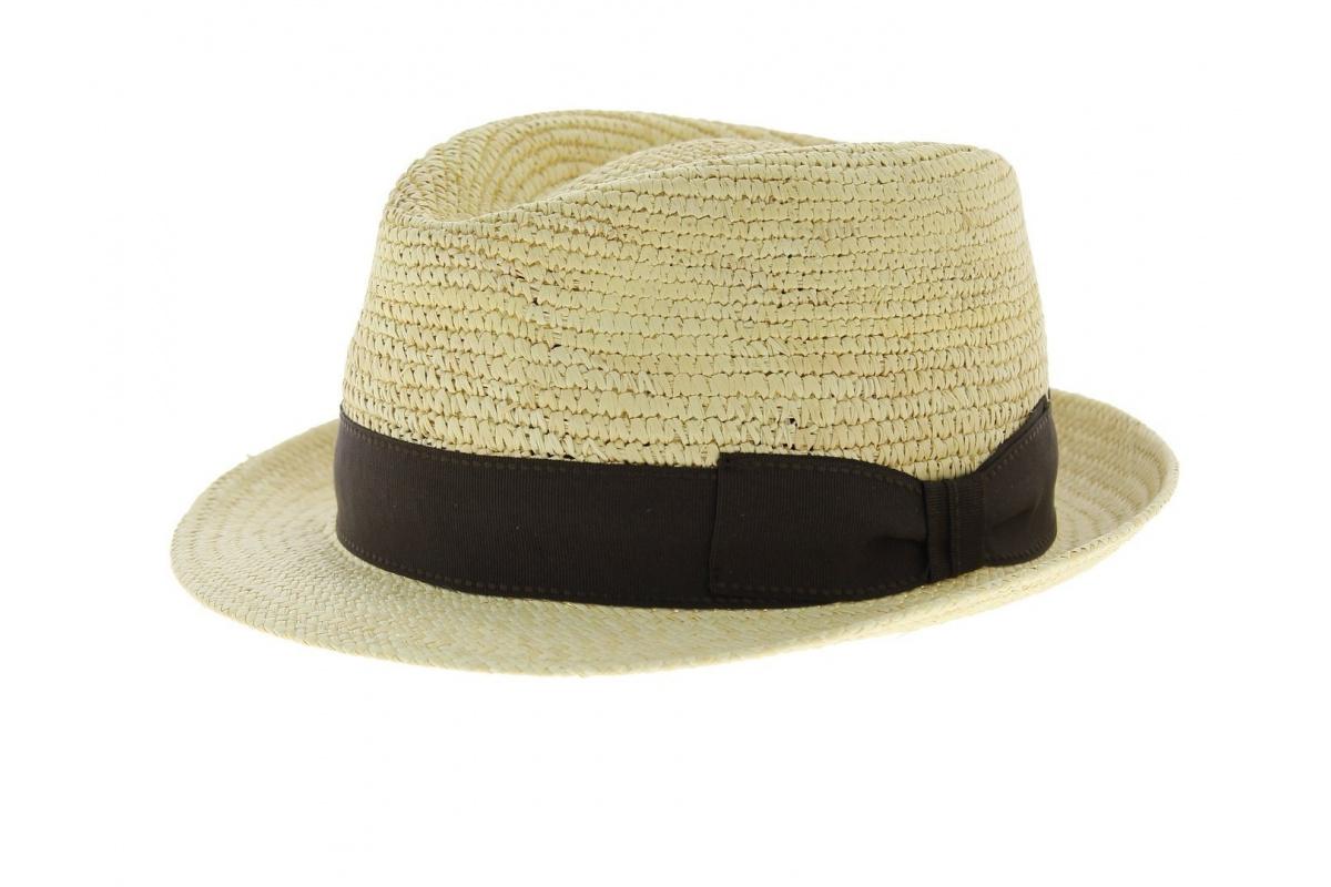 Chapeau de paille mah chapeau traclet - Deco chapeau de paille ...