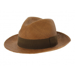Chapeau panama Manabi - Marron