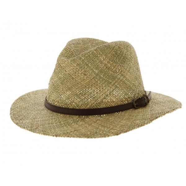 Chapeau de paille summertime chapeau traclet - Deco chapeau de paille ...