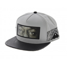 Casquette Snapback C&S - One Love grise