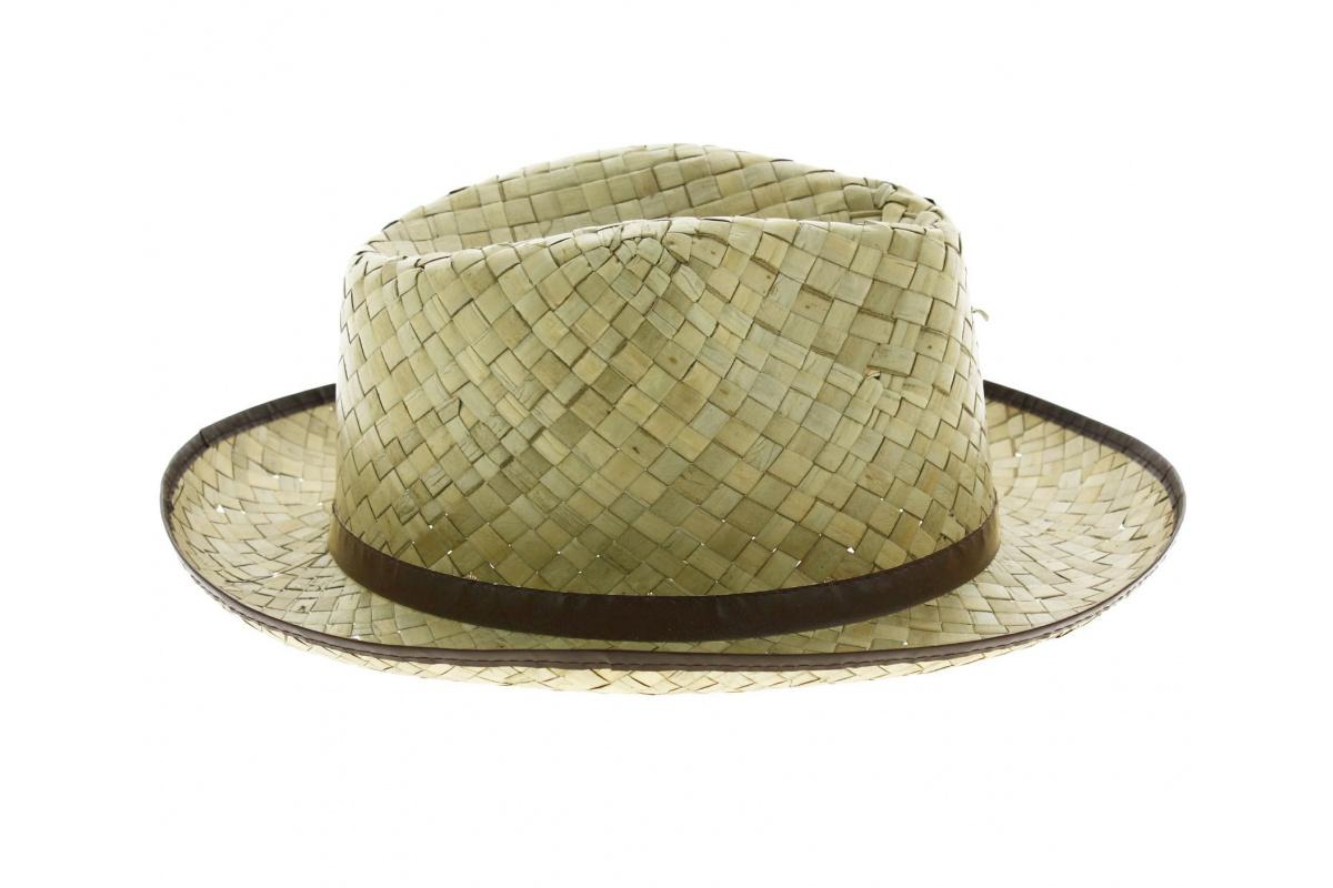 Chapeau de paille garden chapeau traclet - Deco chapeau de paille ...
