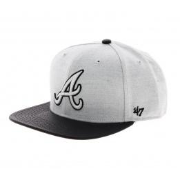 Casquette Atlanta Braves grise - 47 Brand