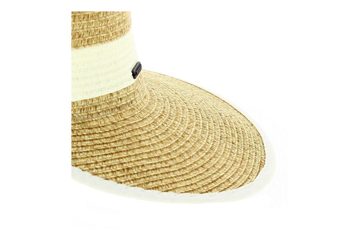 capeline de paille loreena chapeau traclet. Black Bedroom Furniture Sets. Home Design Ideas